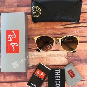 ⚠️60% OFF AUTHENTIC RAY BAN ERIKA METAL